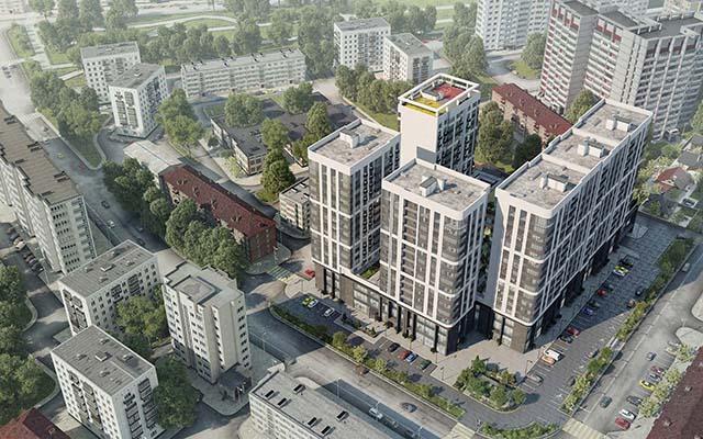 Однокомнатные квартиры в Краснодаре от застройщика  Жилой