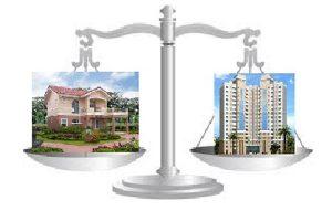 весы - дом или квартира